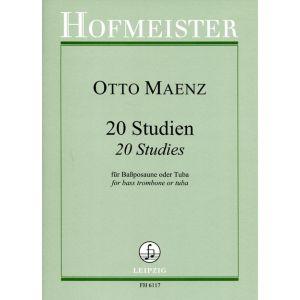 Otto Maenz: 20 Studien