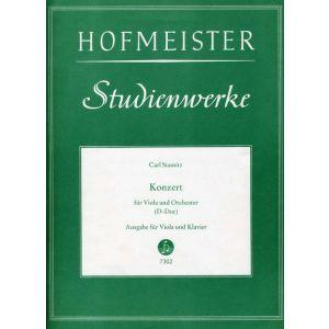 Carl Stamitz: Konzert für Viola und Orchester D-Dur / KlA.