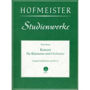 Victor Bruns: Konzert für Klarinette und Orchester op. 26 / KlA