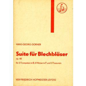 Hans-Georg Görnr: Suite für Blechbläser, op. 48