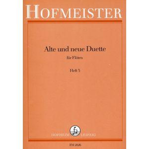 Alte und neue Duette, Heft 3