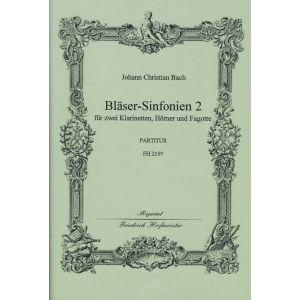 Johann Christian Bach: Bläser-Sinfonien 4-6 / Partitur