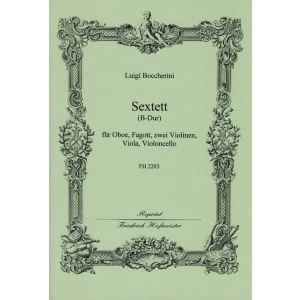 Luigi Boccherini: Sextett B-Dur