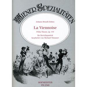 Johann Strauß (Sohn): La Viennoise, op. 144