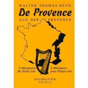 Walter Thomas Heyn: De Provence