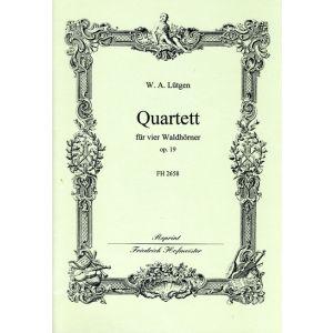 W. A. Lütgen: Quartett, op. 19