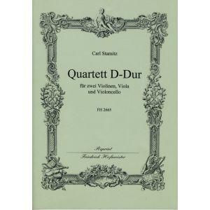 Carl Stamitz: Quartett D-Dur