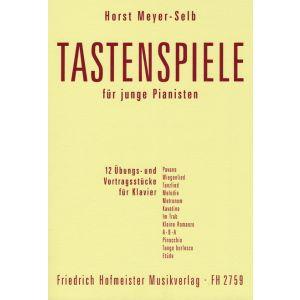 Horst Meyer-Selb: Tastenspiele für junge Pianisten