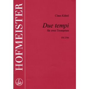 Claus Kühnl: Due Tempi