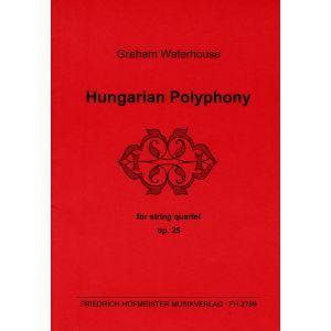 Graham Waterhouse: Hungarian Polyphony, op. 25