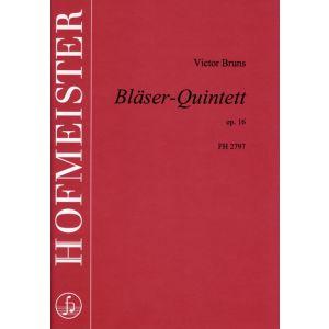 Victor Bruns: Bläser-Quintett, op. 16 / Partitur