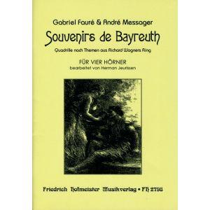 Gabriel Fauré & André Messager: Souvenirs de Bayreuth