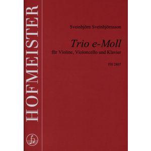 Sveinbjörn Sveinbjörnsson: Trio e-Moll