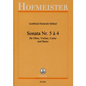 Gottfried Heinrich Stölzel: Sonata Nr. 5 à 4