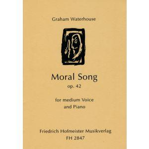 Graham Waterhouse: Moral Song, op. 42