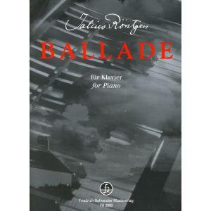 Julius Röntgen: Ballade