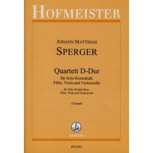 Johann Matthias Sperger: Quartett D-Dur