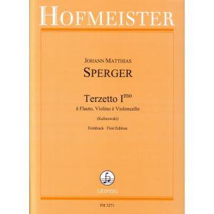 Johann Matthias Sperger: Terzetto primo