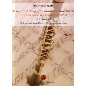 Arien und Songs für moderne Klarinette, Band 1