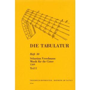 Sebastian Vreedmann: Musik für die Cister, 1569