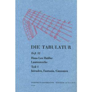 Hans Leo Haßler: Lautenwerke, 1615