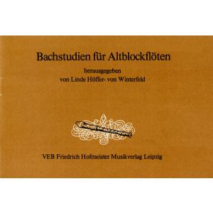 Bachstudien (Höffer-von Winterfeld)