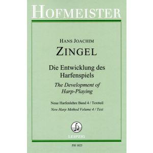 Hans Joachim Zingel: Neue Harfenlehre, Band 4 (dt./engl.) - Textteil