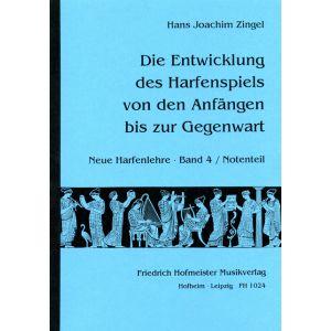 Hans Joachim Zingel: Neue Harfenlehre, Band 4 - Notenteil
