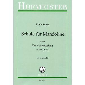 Erich Repke: Schule für Mandoline (1. Heft)