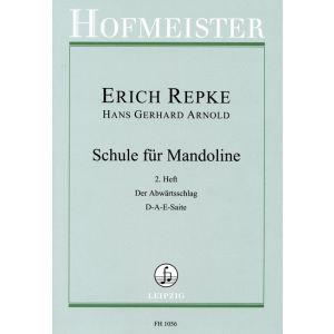 Erich Repke: Schule für Mandoline (2. Heft)