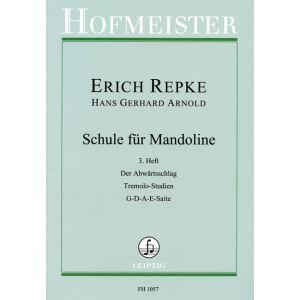 Erich Repke: Schule für Mandoline (3. Heft)