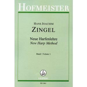 Hans Joachim Zingel: Neue Harfenlehre, Band 1: Anweisung zum Harfenspiel in zwei Teilen