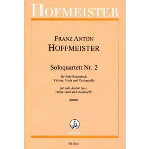 Franz Anton Hoffmeister: Solo-Quartett Nr. 2