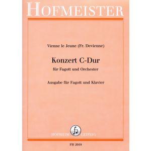 Vienne le Jeune (Fr. Devienne): Konzert C-Dur für Fagott und Orchester / KlA
