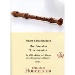 Johann Sebastian Bach: Drei Sonaten