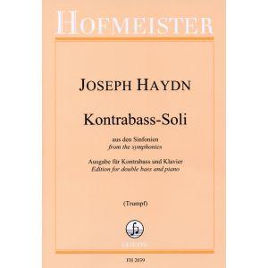 Joseph Haydn: Kontrabaß-Soli aus den Sinfonien