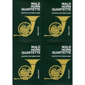 Waldhornquartette Bd. 1 (Liebert)