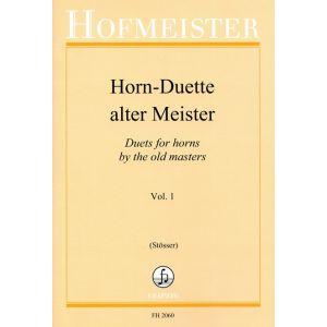 Horn-Duette alter Meister, Heft 1
