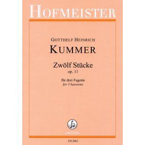 Gotthelf Heinrich Kummer: 12 Stücke, op. 11
