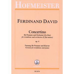 Ferdinand David: Concertino Es-Dur, op. 4 / KlA