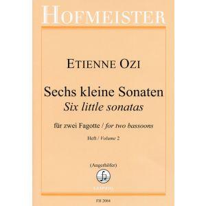 Etienne Ozi: Sechs kleine Sonaten, Heft 2