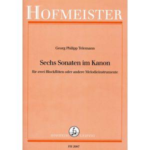 Georg Philipp Telemann: Sechs Sonaten im Kanon
