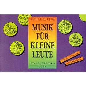 Heinrich Funk: Musik für kleine Leute