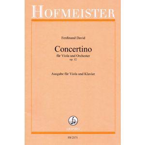 Ferdinand David: Concertino für Viola und Orchester, op. 12 / KlA
