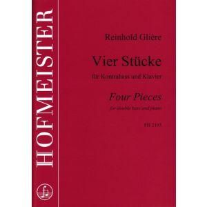 Reinhold Glière: Vier Stücke