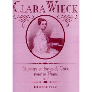 Clara Wieck: Caprices en forme de Valse, op. 2