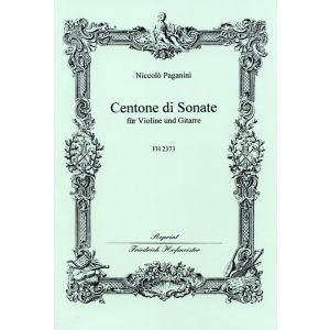 Niccolò Paganini: Centone di Sonate