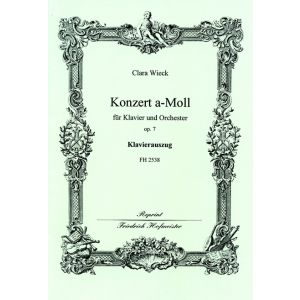 Clara Wieck: Premier Concert pour le Piano-Forte, op. 7 / KlA