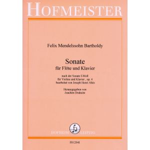 Felix Mendelssohn Bartholdy: Sonate f-Moll