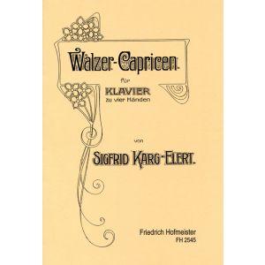 Sigfrid Karg-Elert: Walzer-Capricen, op. 16